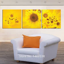 Prints For Home Decor Compare Prices On Large Sunflower Wall Art Online Shopping Buy