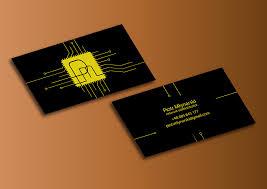 Resume Of Network Administrator Creative Business Card For Network Administrator On Behance