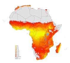 africa map by year jrc maps help match water supply and demand european commission