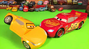 disney cars 3 race u0026 reck cruz ramirez and talking lightning