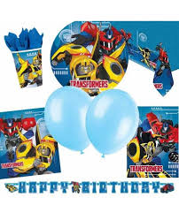 transformer party supplies transformers party supplies for boys party bags and supplies