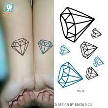 popular diamond tattoo symbolism buy cheap diamond tattoo