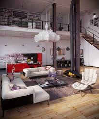 Touch Floor L Furniture Vintage Style Living Room Ideas With Loft Contemporary