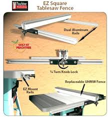 dewalt table saw rip fence extension table saw rip fence dewalt table saw rip fence extension ez square
