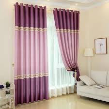 Pink And Purple Curtains Pink And Purple Floral Beautiful Curtains For Room