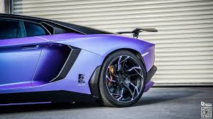 lamborghini purple lamborghini aventador in matte purple with dmc kit dmc sv dragon 7