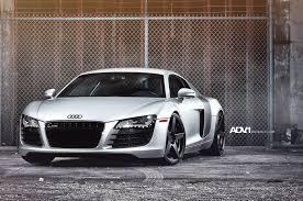 Audi R8 Silver - adv 1 wheels media gallery