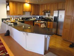 kitchen countertop design ideas using concrete inspiration on