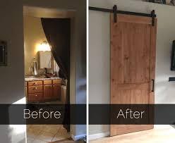 Barn Door Ideas For Bathroom 139 Best Doors Barn Door Dutch Door Images On Pinterest