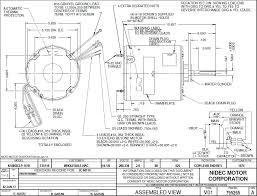 1874 emerson 1 4 1 8 hp condenser fan motor 208 230 vac 825 rpm