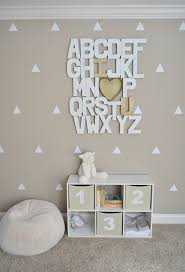 How Adorable Is This DIY Alphabet Wall Baby From Brit Co - Alphabet wall decals for kids rooms