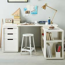 L Shaped White Desk Office L Shaped White Desk Set