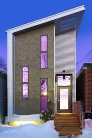 modern narrow house narrow modern infill tiny house located in the tiny town
