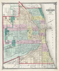 Chicago City Map by File 1875 Chicago Map By Warner U0026 Beers Jpg Wikimedia Commons
