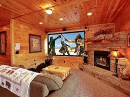 bedroom home theater 3 king suites with jacuzzi tubs fantastic homeaway pigeon forge