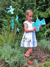 Garden Crafts To Make - fun hummingbird tree crafts to make with kids the charitree