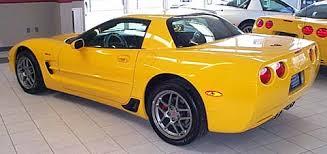 01 corvette z06 corvette spotlight of the month 2001 millenium yellow z06 corvette