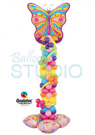 butterfly balloons butterfly tower balloons vancouver jc balloon studio