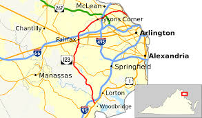 Alexandria Zip Code Map by Virginia State Route 123 Wikipedia