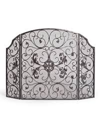 estate fireplace screen u0026 tool balsam hill