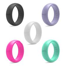 rubber wedding ring silicone wedding ring for women rubber wedding band