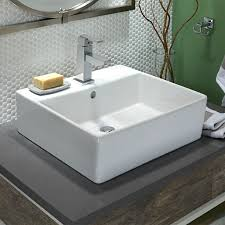 wide basin bathroom sink captivating loft counter vessel sink american standard in countertop