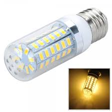 e27 12w 820lm 3500k warm white light 56 smd 5730 led corn lamp