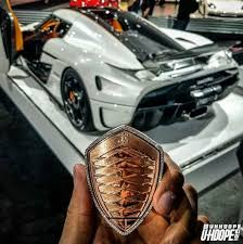 koenigsegg key koenigsegg regera gets 18k pink gold and diamonds key fob