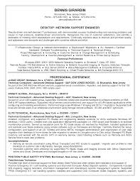 Resume Samples For Technical Support by Desktop Support Engineer Resume Samples Free Resume Example And