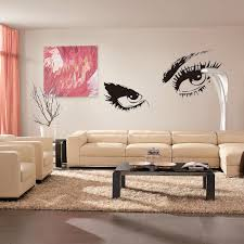 Design Own Wall Sticker Home Decor Sexy Eyes Wall Stickers Wall Stickers Exquisite Family