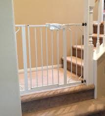 Best Stair Gate For Banisters How To Install A Tension Gate On A Banister Youtube