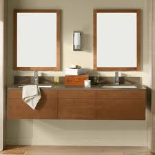 Wall Mount Bathroom Cabinet by Espresso Wall Mounted Vanity Cabinet In The Bathroom With Medicine