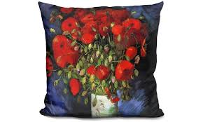 66 on vincent gogh accent pillows groupon goods