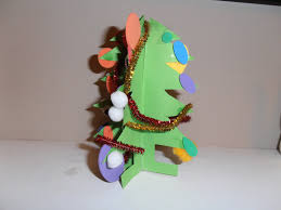 paper christmas tree craft laura williams