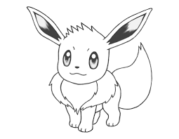 eevee coloring pages pokemon coloring pagesletter sizefree