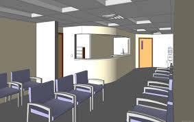 waiting area design plan