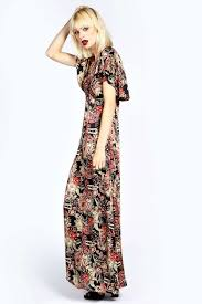 boohoo paisley cape maxi dress how to wear caped dresses
