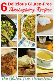 6 favorite gluten free thanksgiving recipes