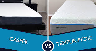 Cooling Mattress Pad For Tempurpedic Casper Vs Tempurpedic Mattress Review Sleepopolis