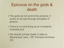 epicurus letter to menoeceus epicurus and lucretius on and how