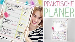 stundenplan designen diy wochen monatsplaner mega easy kalender selbst gestalten
