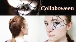 Spider Makeup Halloween by Halloween Hair Idea Spider Bun And Web Makeup Youtube