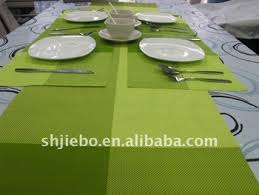 Plastic Table Runners Pvc Table Runners Green Woven Table Runner Pvc Plastic Placemats