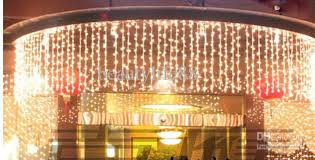 Best Sales10m 1m Led Curtain Lights String 448 Leds Backdrop