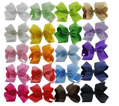 boutique bows 20pc wholesale cheap low price hair bows big 5 5 boutique girl
