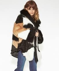 Faux Heartshaker Faux Fur Jacket Oneteaspoon