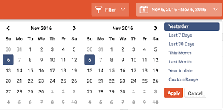 zemanta setting time intervals with date picker