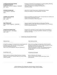 Pg Resume Format P G Resume