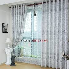 floral and geometric patterns light blue blackout curtains buy
