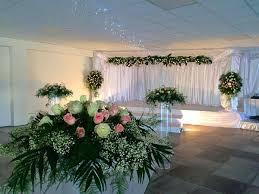 Decoration Florale Mariage Arche Nuptiale Avec Voile Satin Pour Mariage Marseille Décoration